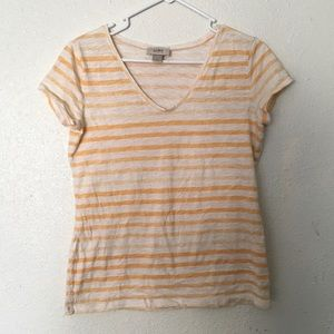 Loft Striped Shirt Medium